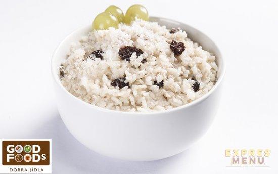 Expres Menu Rýžová kaše s rozinkami 300g (1 porce)