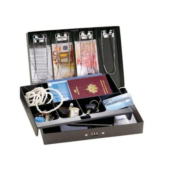 MasterLock 7147EURD Pokladní uzamykatelný box s kombinačním zámkem