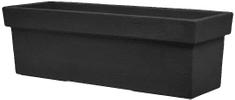 Lienbacher truhlík PISA 60 cm, černý