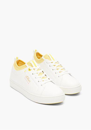 s.Oliver Ženske superge White / Yellow 5-5-23603-34-166