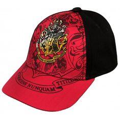 "SETINO Fantovska kapa s šiltom ""Harry Potter"" - rdeča - 56 cm"