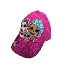 """SETINO Lány baseball sapka """"LOL"""" - sötét rózsaszín - 54 cm"""