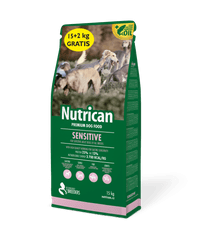 Nutrican with Sensitive 15 kg + 2 kg
