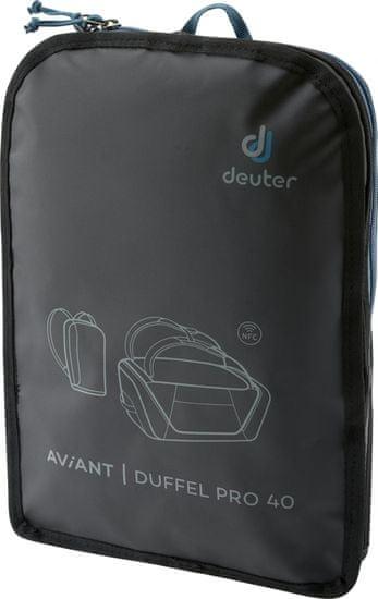 DEUTER Aviant Duffel Pro batoh black 40 l