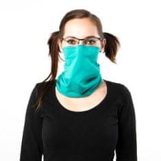 Revenium Betelný antivirový šátek s nano membránou - tyrkysový - pro děti i dospělé - M