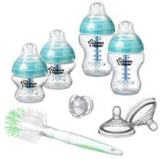 Tommee Tippee sada dojčenských fľaštičiek C2N ANTI-COLIC s kefou