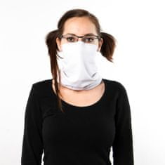 Revenium Betelný antivirový šátek s nano membránou - bílý - pro děti i dospělé - M
