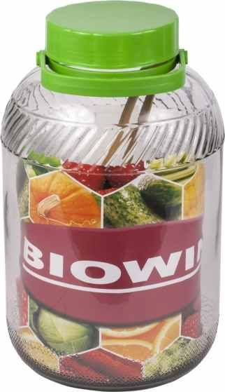 Browin Nakládací nádoba na zelí a okurky 8l sklo + kleště