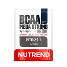 Nutrend BCAA Mega Strong Drink (2:1:1) 10g modrá malina