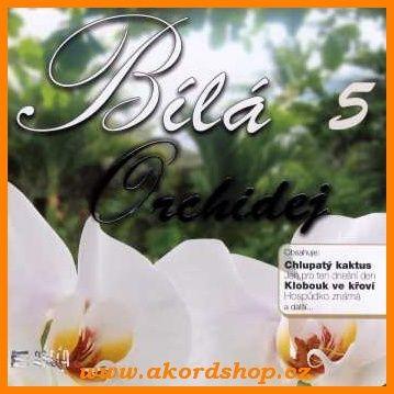 Bílá orchidej 5 - CD