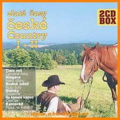 Zlaté časy české country I + II (2x CD) - CD