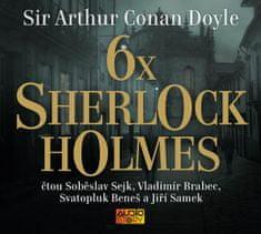 Doyle Arthur Conan: 6x Sherlock Holmes - MP3-CD