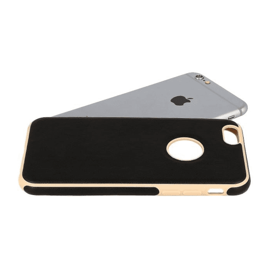 AMA Silikonový/ kožený obal VINTAGE pro HUAWEI P9 LITE - černý