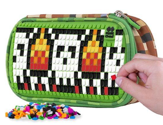 Pixie Crew piórnik szkolny Minecraft, zielony
