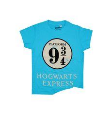 "SETINO Fantovska majica ""Harry Potter"" - svetlo modra - 152 / 11–12 let"