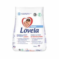 Lovela Baby pralni prah, 1,3 kg/13 pranj, barvno perilo