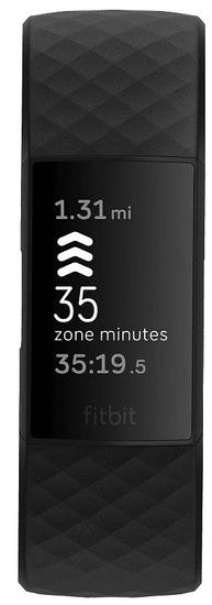 Fitbit pametni sat Charge 4 (NFC), Black/crni