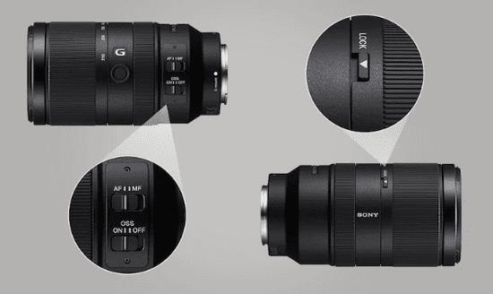 SONY 70-350 mm F4,5-6,3 G OSS (SEL70350G)