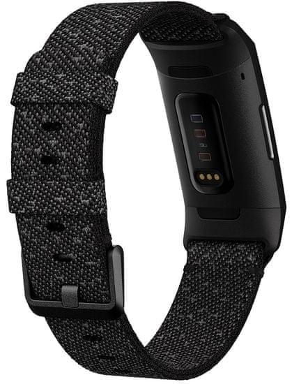 Fitbit pametni sat Charge 4 (NFC), Granite Reflective Woven/Black