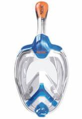 Seac Celoobličejová šnorchlovací maska Unica modrá/oranžová S/M