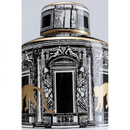 KARE Porcelánová dóza Temple 30cm