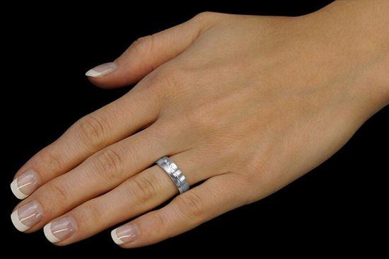 Silvego Poročni srebrni prstan Presley za ženske QRZLP012W srebro 925/1000