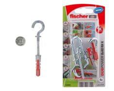 Fischer Hmoždinka s háčkem DUOPOWER 8x40 RH - 4ks