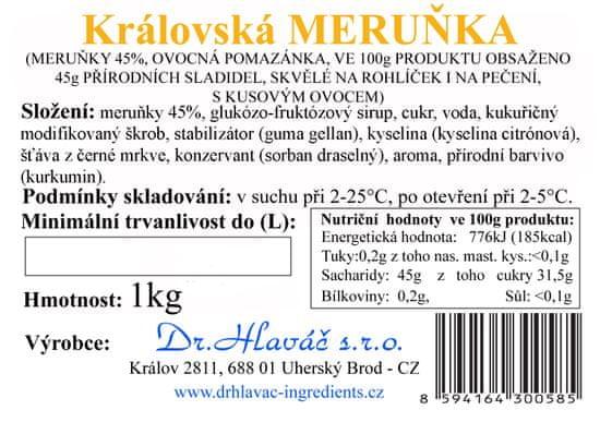Dr. Hlaváč Džem Královská Meruňka 1 kg