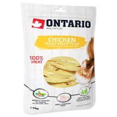 Ontario karma uzupełniająca dla kota Boiled Chicken Breast Fillet 6x70 g