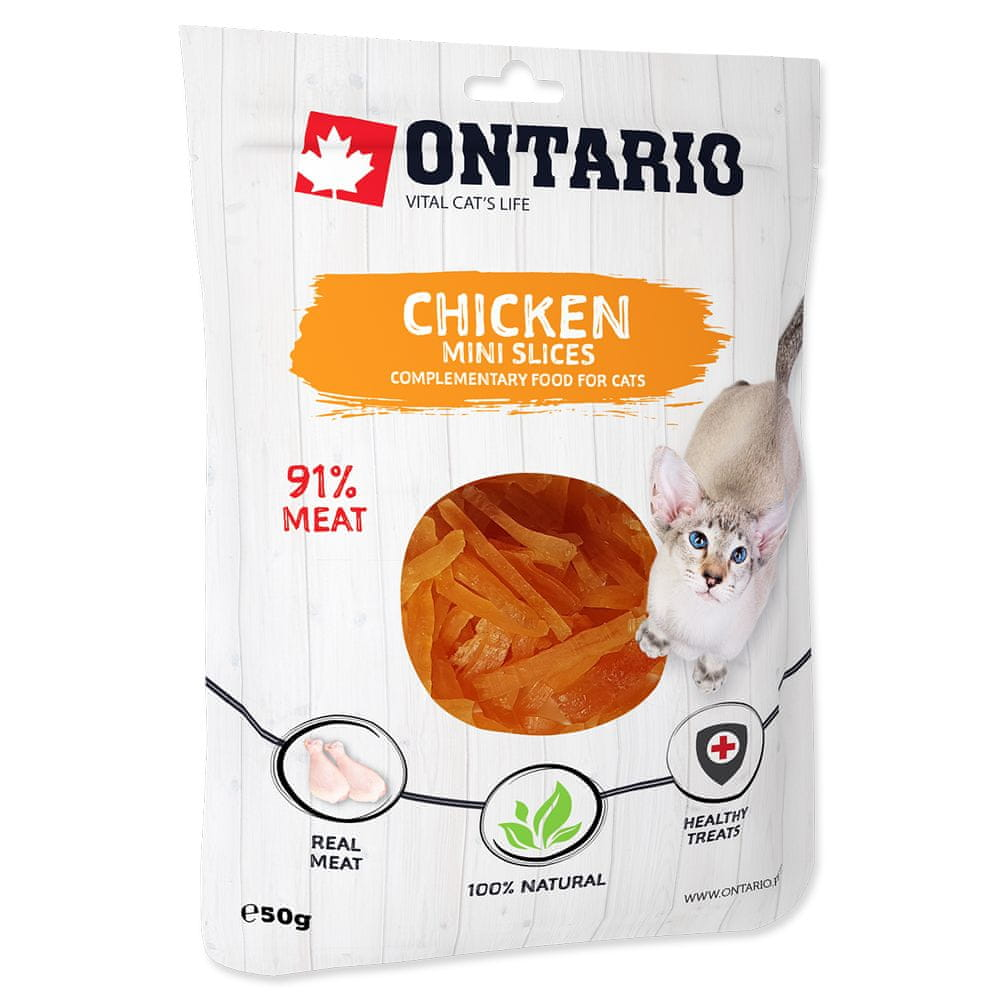 Ontario Mini Chicken Slices 8x50 g