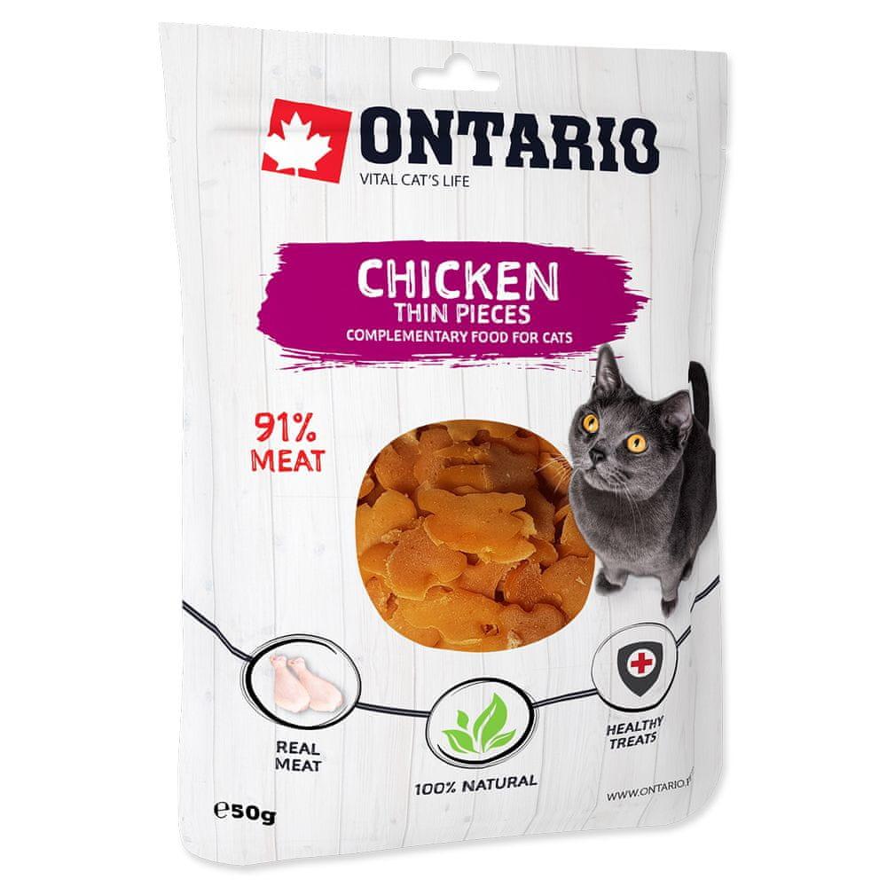 Ontario Chicken Thin Pieces 8x50 g
