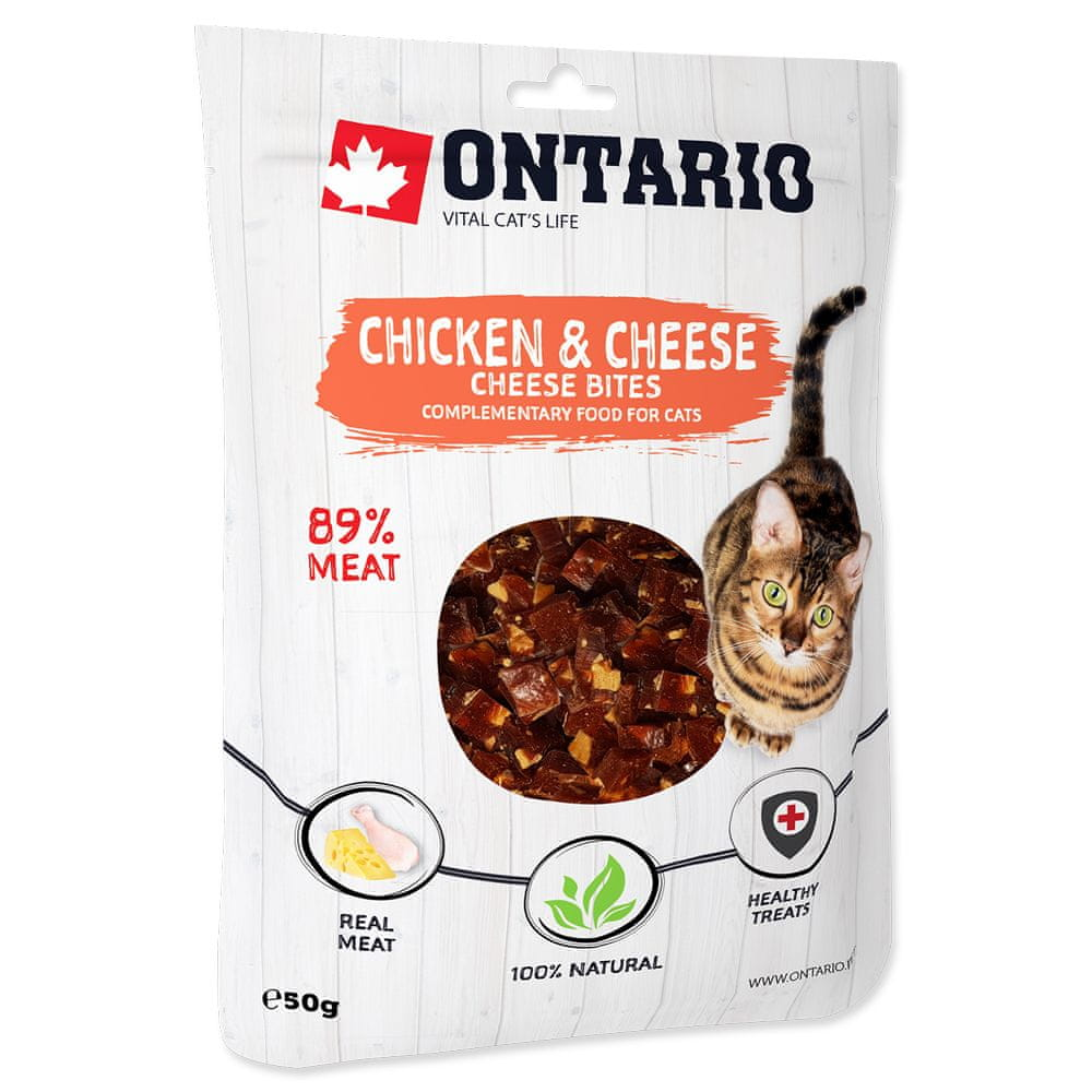 Ontario Chicken and Cheese Bites 8x50 g