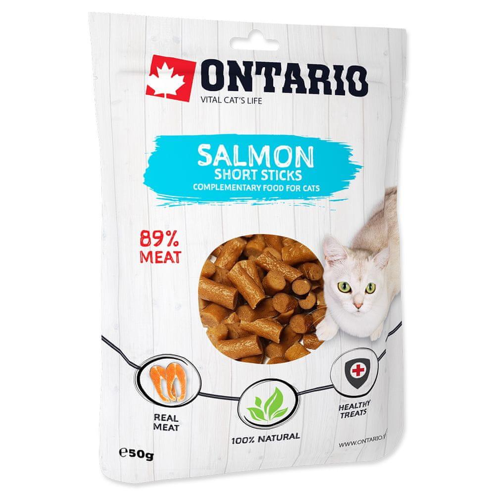 Ontario Salmon Short Sticks 8x50 g