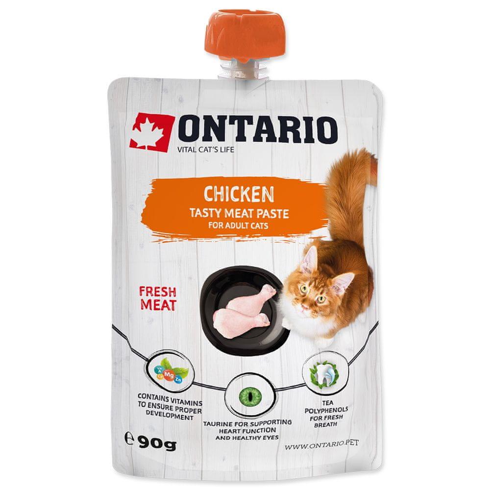 Ontario Chicken Fresh Meat Paste 10x90 g