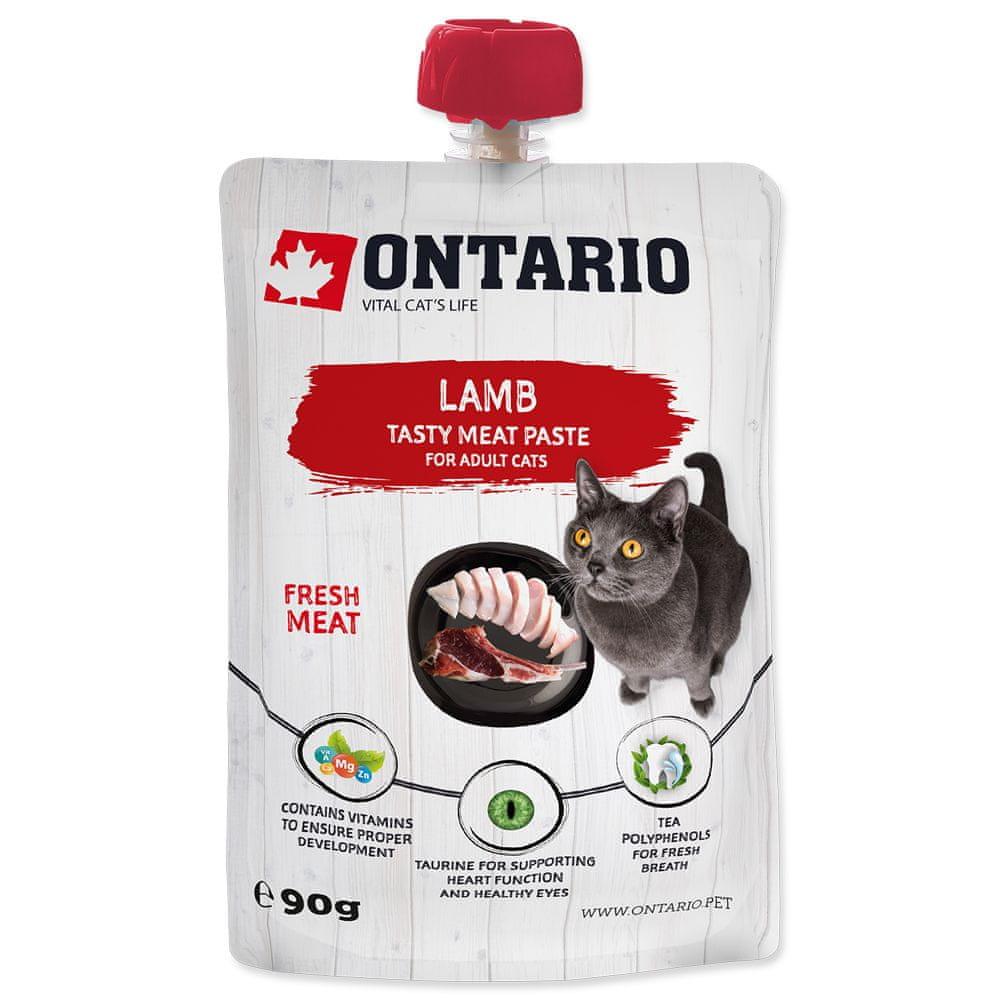 Ontario Lamb Fresh Meat Paste 10x90 g