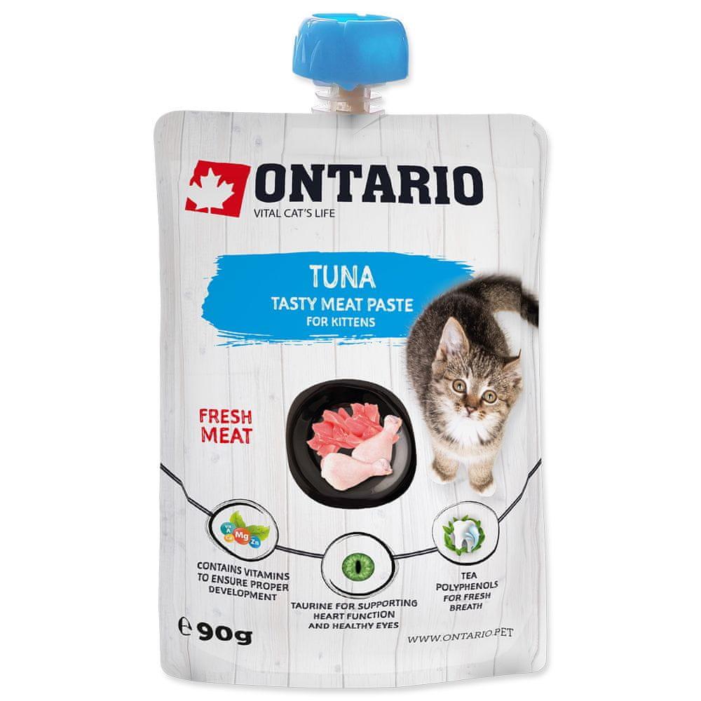 Ontario Kitten Tuna Fresh Meat Paste 10x90 g