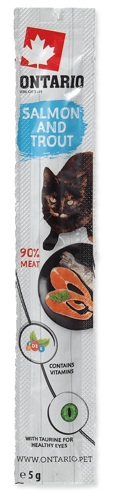 Ontario Stick for cats Salmon&Trout 24x5 g