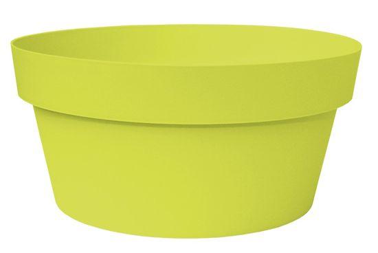 Marex Trade Květináč MELROSE SKLEDA Ø 30 cm, zelená