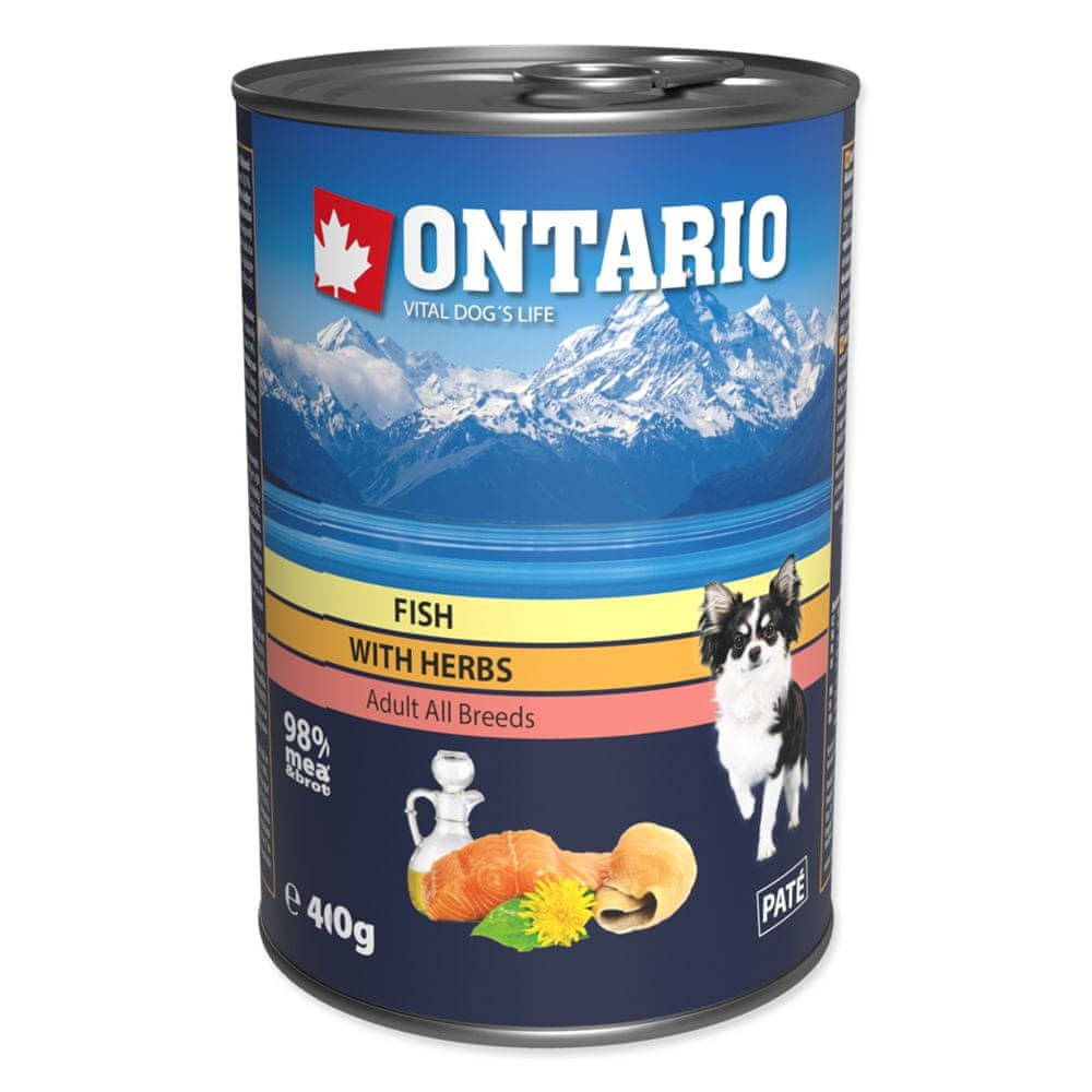 Ontario konz. Mini MULTI FISH and Salmon Oil 6x400 g