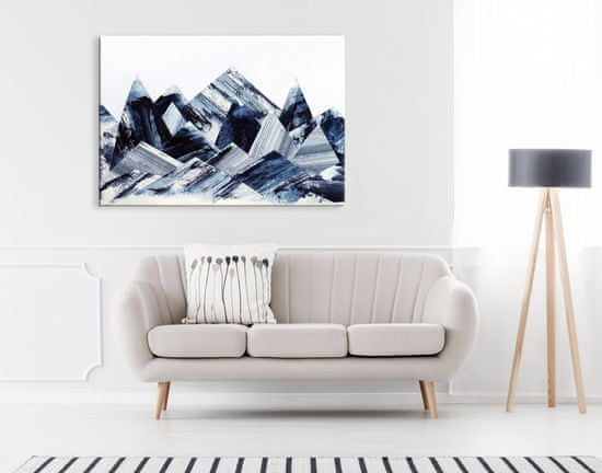 Dalenor Obraz Abstraktné črepy, 90x60 cm