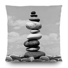 AG design Dekorativní polštářek CN3612 Stones 45 x 45 cm