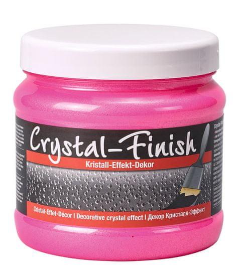 Pufas Dekorativní nátěr Crystal finish Neon Pink 750 ml