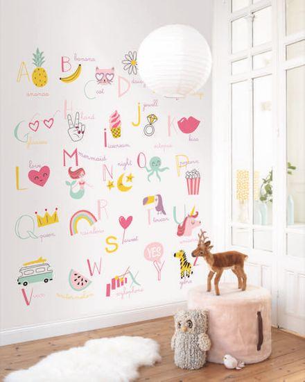 Caselio Designový panel ve vlies provedení na zeď Caselio 100984100, kolekce GIRL POWER 200 x 280 cm
