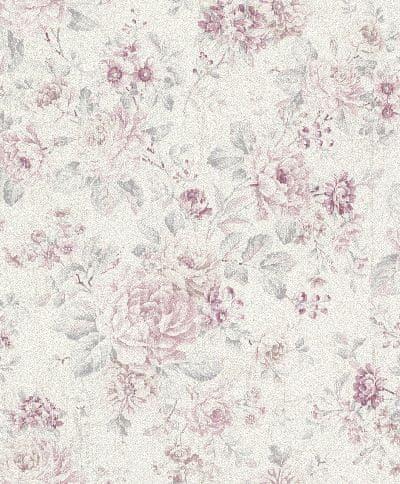 Rasch Vinylová tapeta na zeď Rasch 516029, kolekce Souvenir, styl květinový, 0,53 x 10,05 m