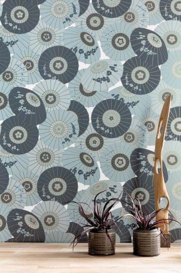 Caselio Vliesová tapeta Caselio 100326300, kolekce Hanami 53 x 1005 cm