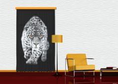 AG design Textilní závěs TIGER FCSL7503, 140 x 245 cm (1 ks), lehké zastínění
