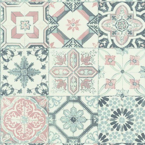 Caselio Vliesová tapeta Caselio 69620000 z kolekce MATERIAL, barva bílá 0,53 x 10,05 m 69620000