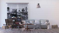 AG design Textilní závěs BRIDGE FCSXL4812, 180 x 160 cm (2 ks), lehké zastínění