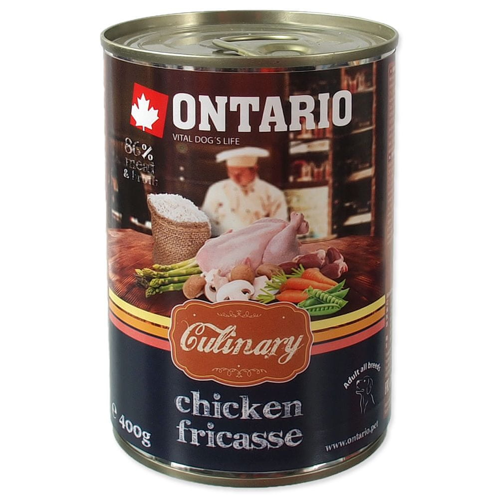 Ontario konz. Culinary Chicken Fricasse 6x400 g