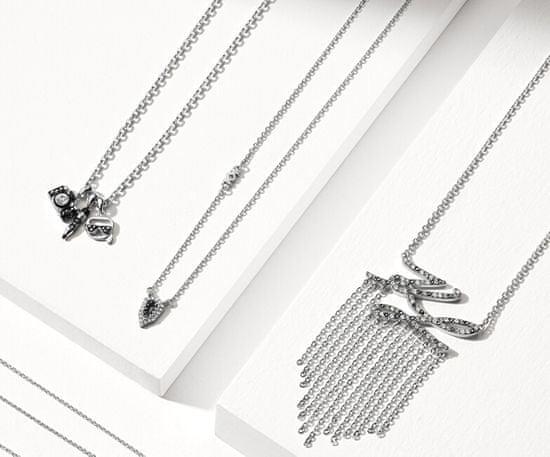 Karl Lagerfeld Stylový náhrdelník Mini Multi-Charms 5512301